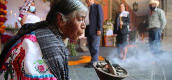 Rinden homenaje a víctimas del Covid19 en Palacio Nacional