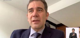 Improcedente medidas cautelares contra Mario Delgado: INE