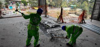 Demuelen en la CDMX edificio construido por Banca Mifel, no cuenta con uso de suelo